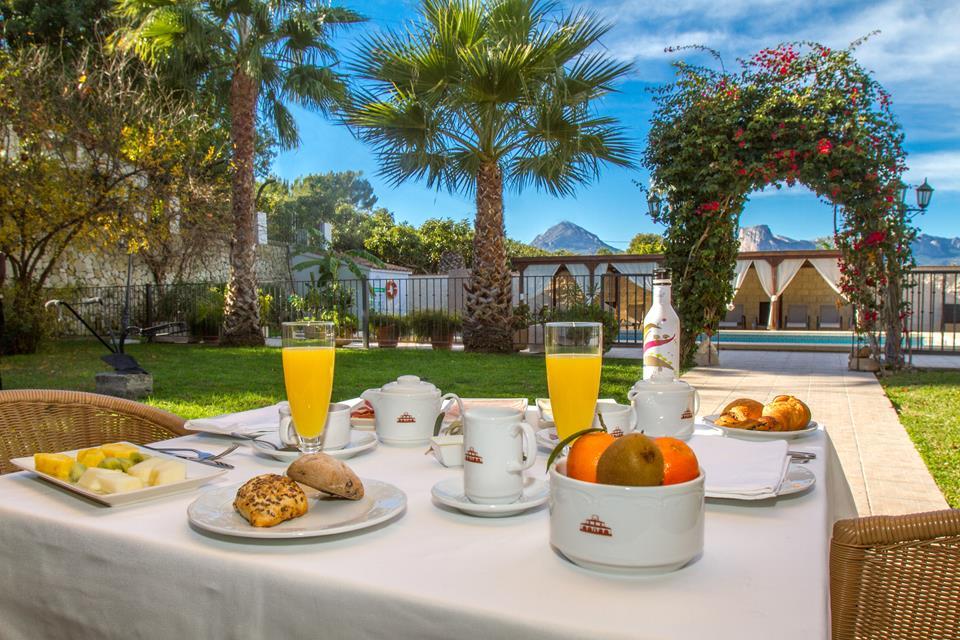 servicios services desayuno breakfast desdejuni hotel tossal d'altea home inicio 3