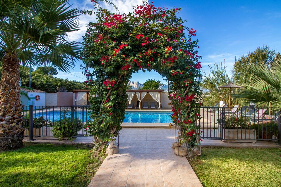 piscina swimming pool hotel tossal d'altea 4