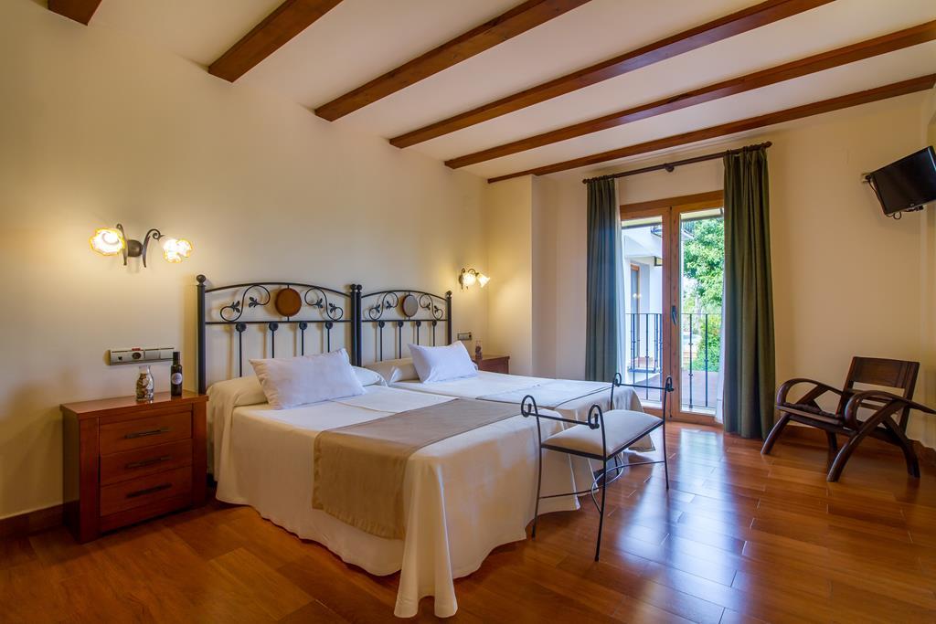 Doble de dos camas con balcón
