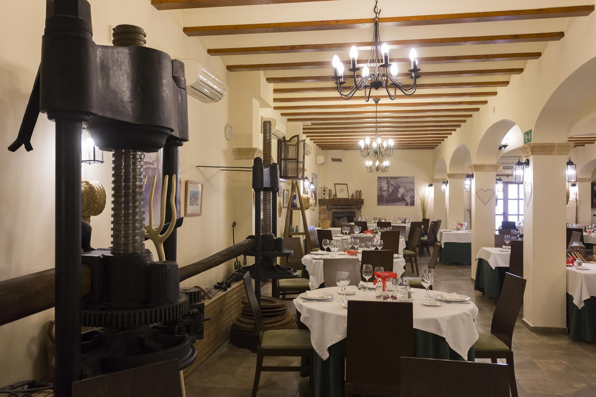 Decoracion Rustica Almazara Hotel Tossal Altea