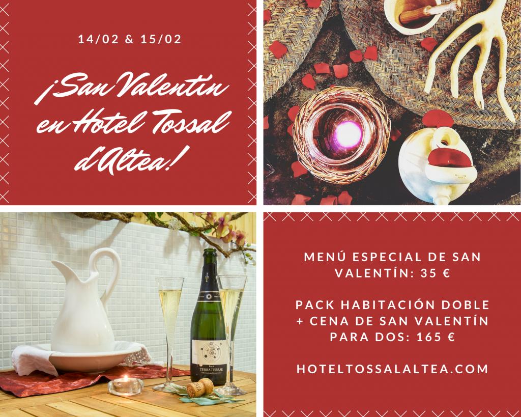 San Valentín en Hotel Tossal d'Altea imagen