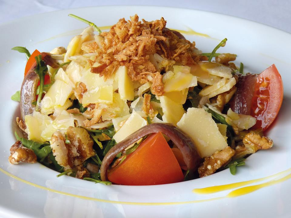 ensalada parmesano restaurante restaurant hotel tossal d'altea