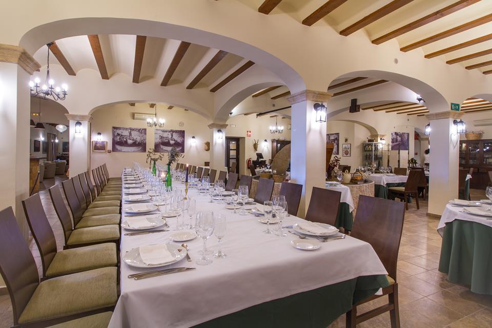 menjador almassera salon restaurante restaurant hotel tossal d'altea