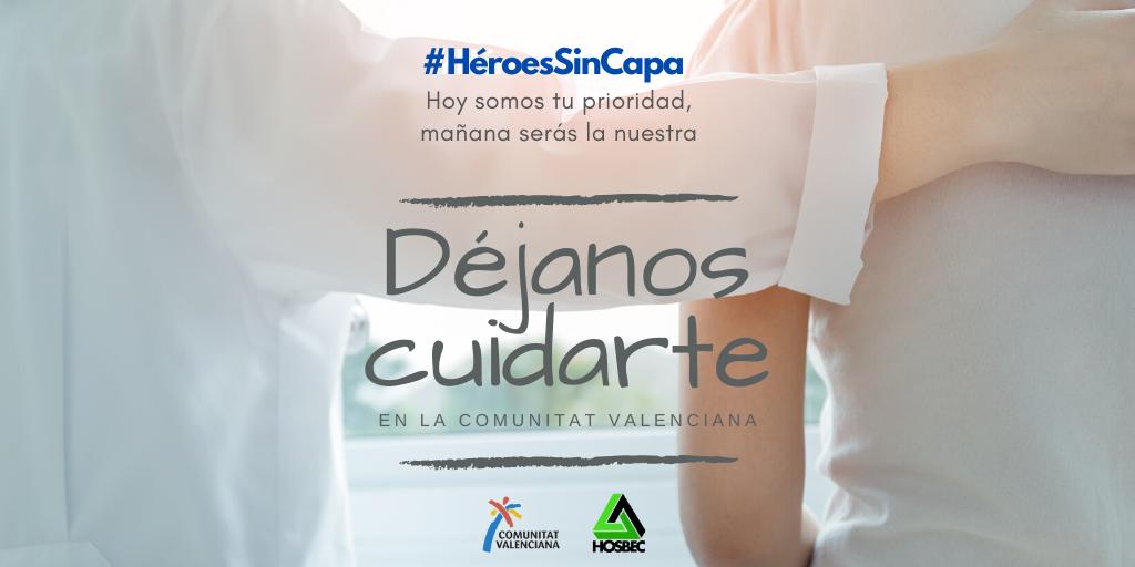 Campaña Heroes Sin Capa Hotel Tossal Altea