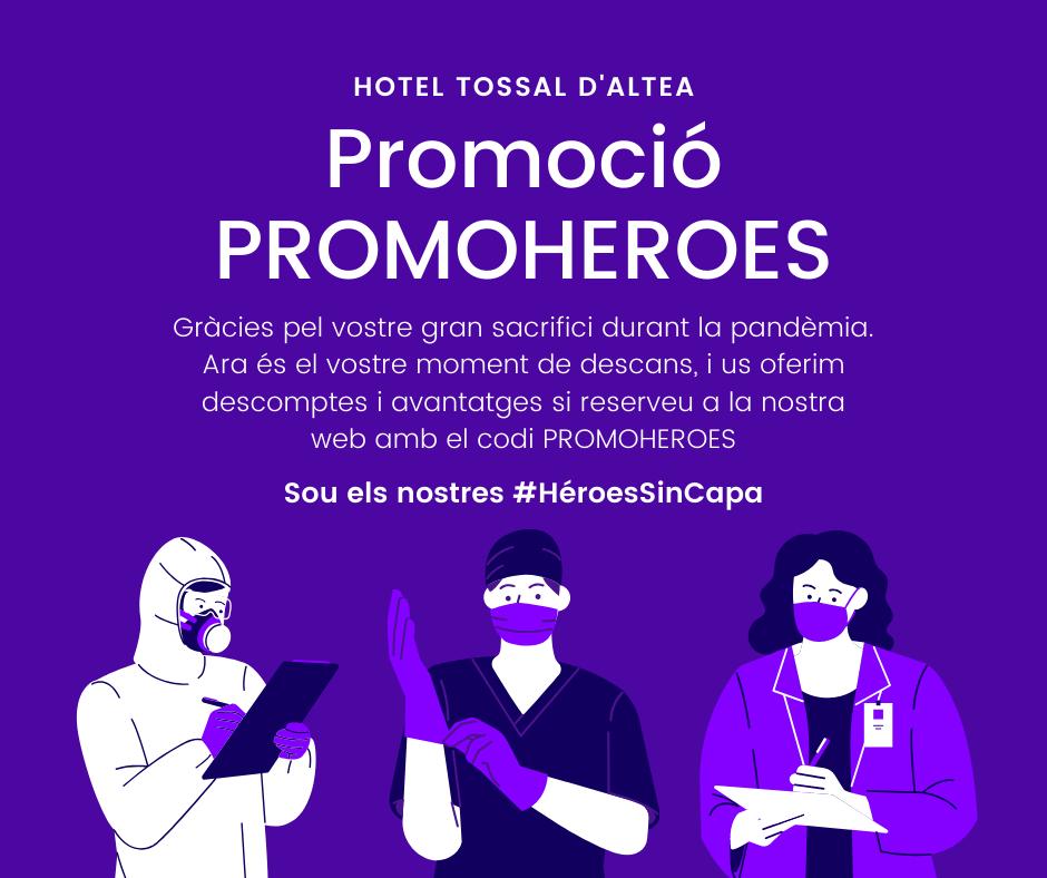 Promoció especial PROMOHEROES Hotel Tossal Altea
