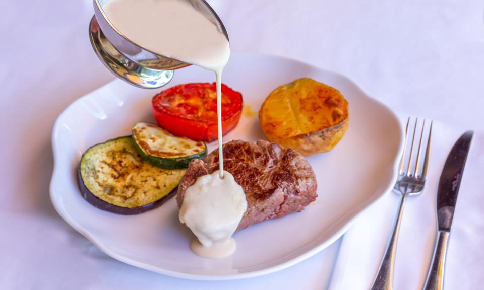 Solomillo ternera restaurante restaurant Hotel Tossal Altea