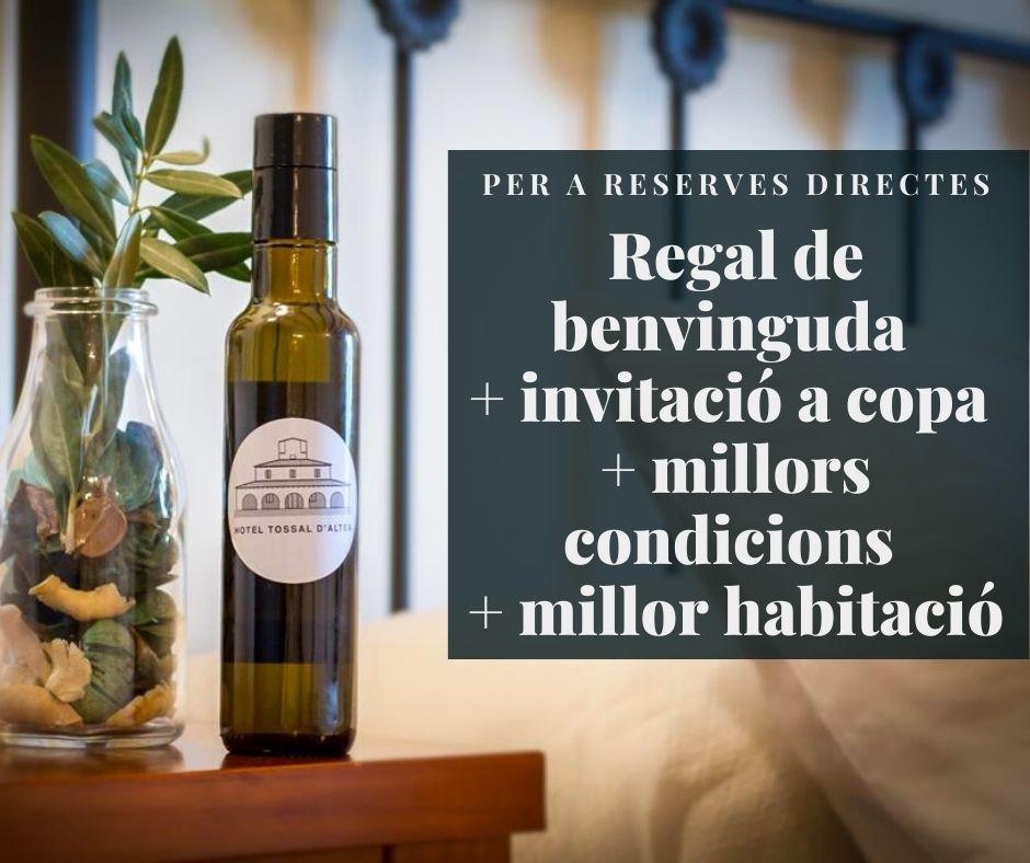 Beneficis exclusius reserves directes Hotel Tossal Altea