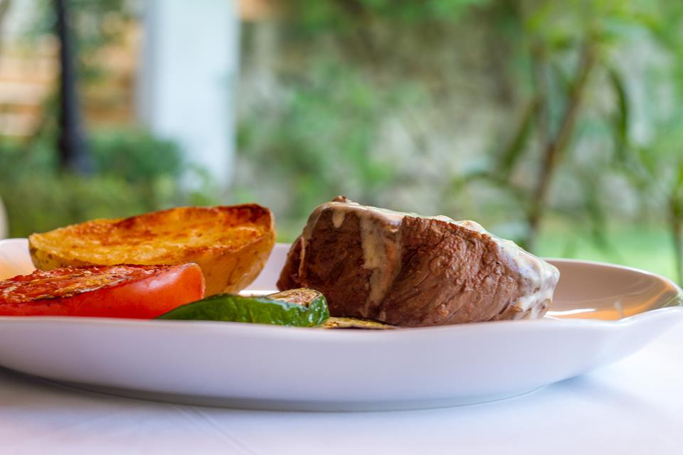 restaurante restaurant Hotel Tossal d'Altea solomillo