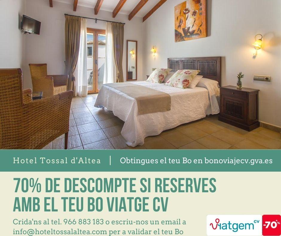 BO VIATGE CV HOTEL TOSSAL ALTEA
