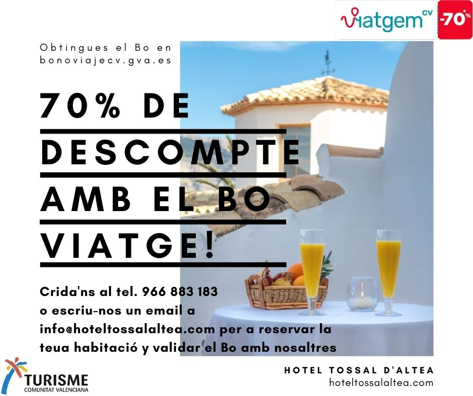 Bo Viatge Hotel Tossal Altea inici