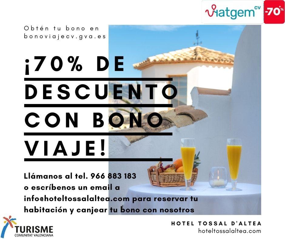 Bono Viaje Hotel Tossal Altea inicio