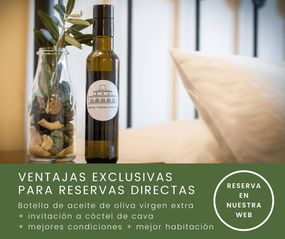 Ventajas reservas directas Hotel Tossal Altea